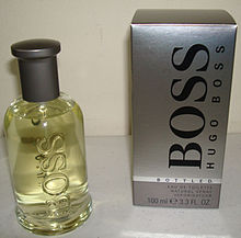 9e03b556f Boss Bottled, a fragrance launched in 1998.