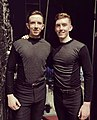 Both Ready for DT backstage at the Gaiety Theatre in Dublin (Riverdance).jpg