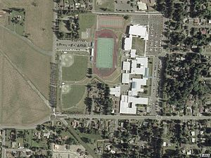 Bothell High School - Image: Bothell High USGS