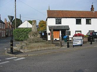 Bottesford, Leicestershire - Image: Bottesford market cross