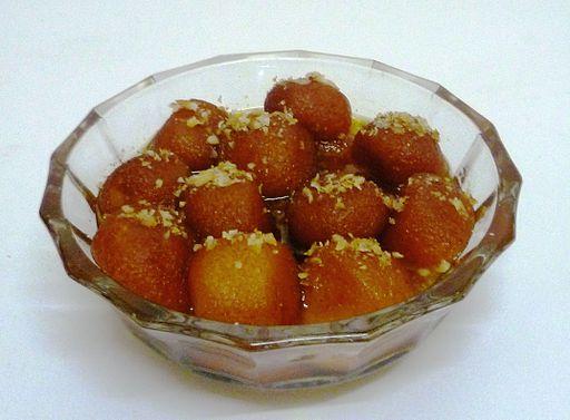 Bowl of Gulab Jamun