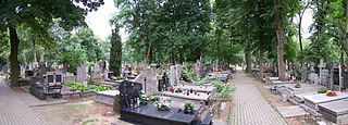 cemetery in the Targówek district, in the eastern part of Warsaw, Poland