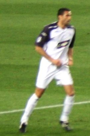 Brahim Hemdani - Hemdani playing for Rangers in November 2007