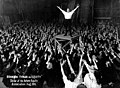 Brandon Tynan arms raised during a performance in support of the Actors' Equity strike of 1919.jpg
