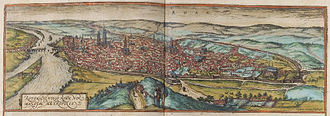 History of Rouen - Overview of Rouen, 1572