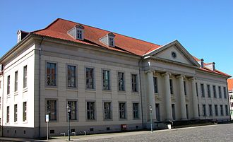 Braunschweig - Landschaftliches Haus, Landtag building of the Duchy and the Free State of Brunswick.