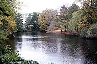 Bremen, water moat of the ancient defence system-1.JPG