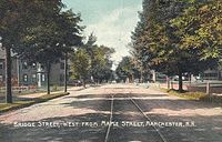 Bridge St., West from Maple St., Manchester, NH.jpg