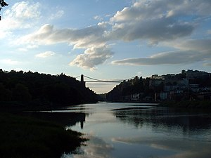 Clifton Suspension Bridge at Dusk, by Joe D