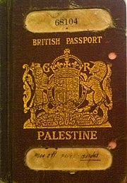 الانتداب البريطاني على فلسطين 180px-British_Mandate_Palestinian_passport