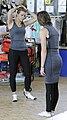 Britte Heidemann und Elena Wassen bei der Olympia-Einkleidung Hannover 2016 (Martin Rulsch) 02.jpg