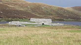Broch of Clickimin - Image: Broch of Clickimin 01