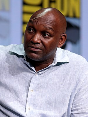 Broderick Johnson - Johnson at the 2017 San Diego Comic-Con