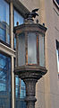 Bronze lamppost at Yonkers, NY, post office.jpg