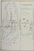 Harta începutului secolului al XX-lea al insulei Barren