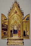 19 July 2010: Madonna with Saints and Scenes of the Life of Christ, portable altarpiece