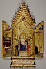 Madonna with Saints and Scenes of the Life of Christ, portable altarpiece