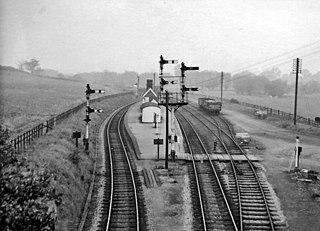Broom Junction railway station Former railway station in Warwickshire, England
