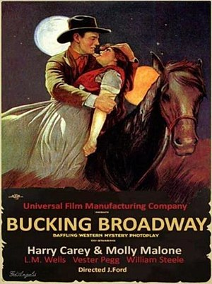 Bucking Broadway - Theatrical poster to Bucking Broadway