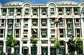 Bucureşti Romanian post-modern flats, May 1996 (3993117891).jpg