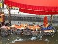 Budanilakantha Narayan Statue in water GP (6).JPG