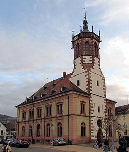 Bildinhalt: Neues Rathaus in Bühl (Baden) Aufnahmeort: Bühl (Baden), Deutschland