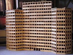 Kapla - Building constructed of Kapla blocks