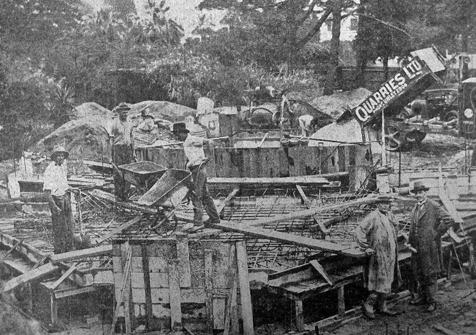 Building the National War Memorial