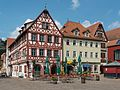 Buildings at Marktplatz, Karlstadt am Main 20160727 1.jpg