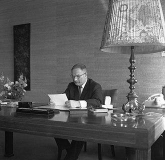 Paul G. Hahnemann - Paul G. Hahnemann 1968 in his office at BMW's Munich headquarters