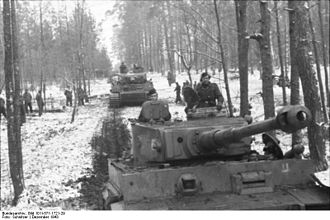 2nd SS Panzer Division Das Reich - 2nd SS Panzer Division near Kirovograd, Soviet Union, December 1943