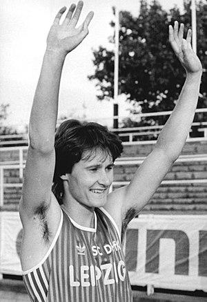 Kerstin Behrendt - Image: Bundesarchiv Bild 183 1990 0818 001, Läuferin Kerstin Behrendt
