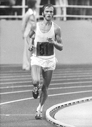 Athletics at the 1976 Summer Olympics – Men's marathon - Waldemar Cierpinski, 1976 Summer Olympics Men's Marathon winner