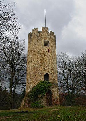 Zähringen castle - Image: Burg Zähringen (Freiburg im Breisgau) 02