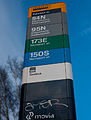 Bus sign - Ryparken station.jpg