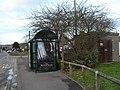 Bus stop in Cornaway Lane - geograph.org.uk - 1707024.jpg