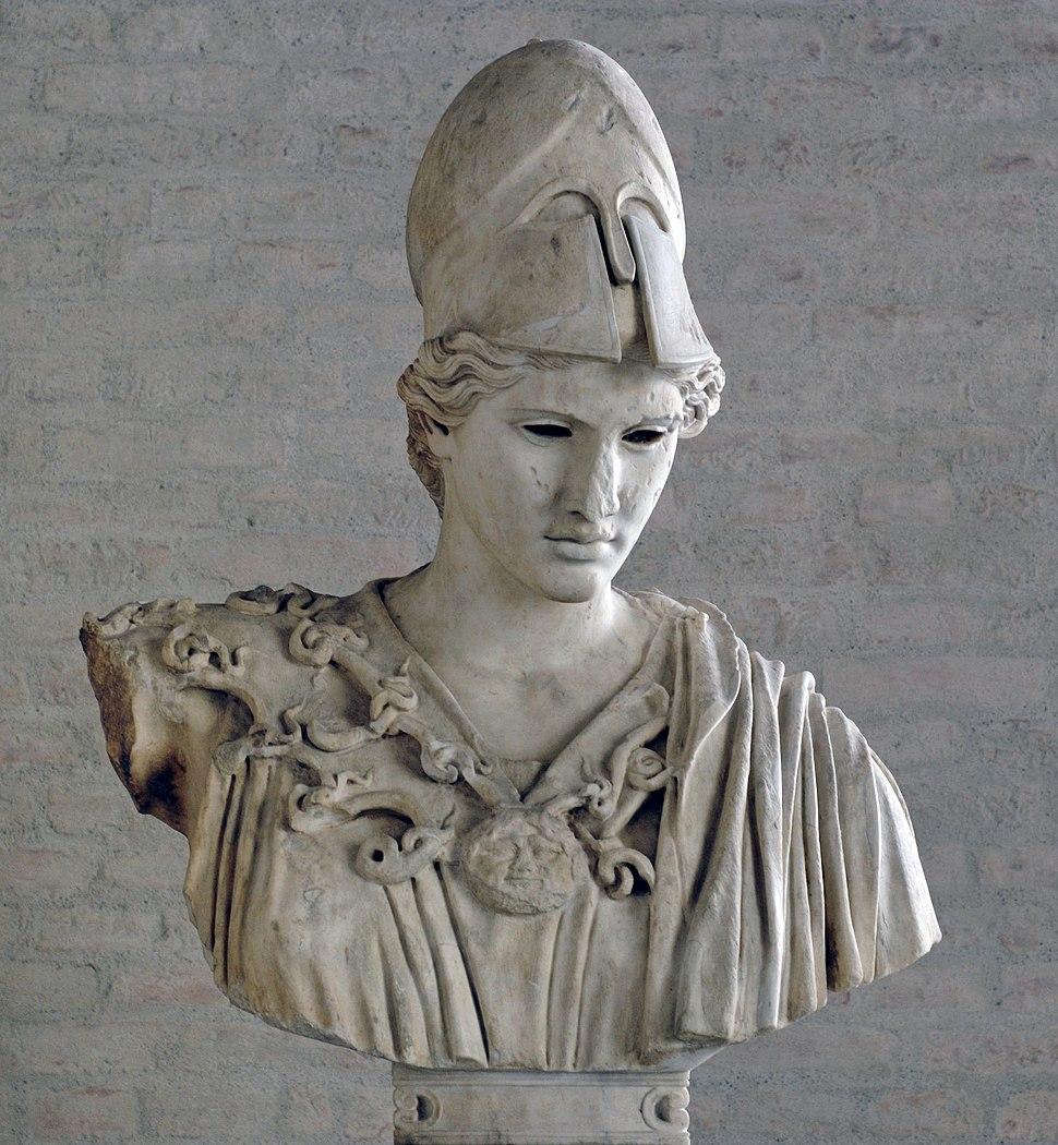Bust Athena Velletri Glyptothek Munich 213