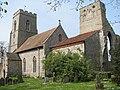 C12 Augustinian priory ruin adjoining All Saints church - geograph.org.uk - 879506.jpg