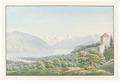 CH-NB - Strättligen, Burg und Blick auf den Thunersee - Collection Gugelmann - GS-GUGE-WEIBEL-C-5.tif