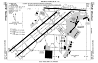 FAA airport diagram   CLE    Location of the Cleveland Hopkins International Airport
