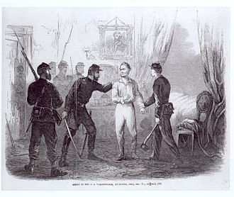 Criminal law in the Taney Court - The arrest of former Congressman Clement Vallandigham (D-OH)