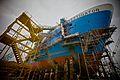 CSIRO ScienceImage 1541 Research vessel Investigator under construction.jpg
