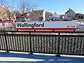 CTrail signage at Wallingford station, December 2017.JPG