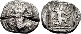 Apadana hoard - Image: CYPRUS, Lapethos. Late 6th early 5th century BC. AR Stater – Double Siglos