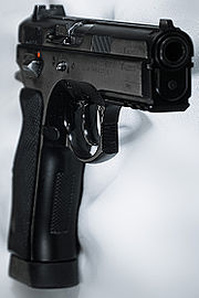 CZ 75 SP-01 front side view