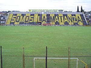Estadio Fragata Presidente Sarmiento - Image: Cablocalalte
