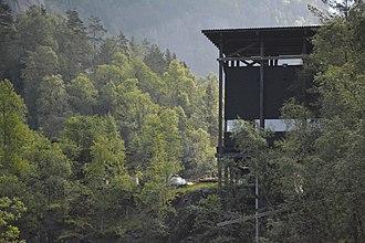 Allmannajuvet - Wooden structure for the museum of mining history in Allmannajuvet