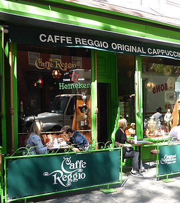 How to get to Caffe Reggio with public transit - About the place