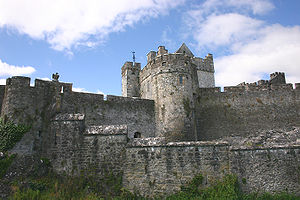 Cahir Castle - Exterior walls