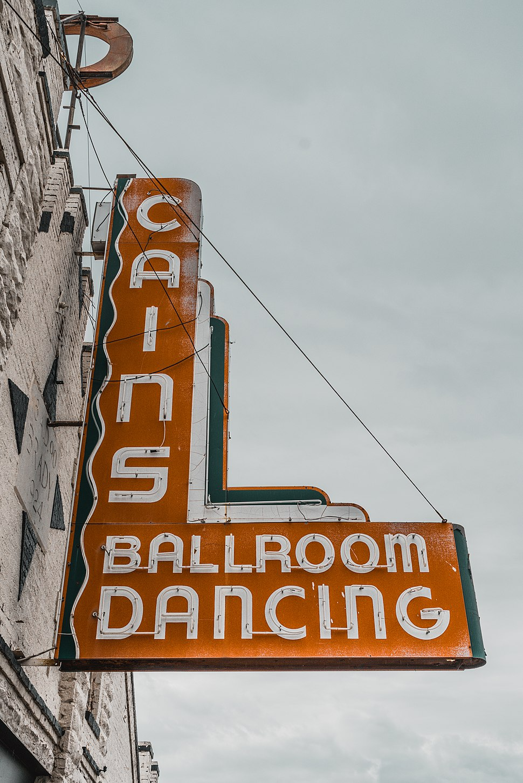 Cains Ballroom Sign Tulsa Oklahoma